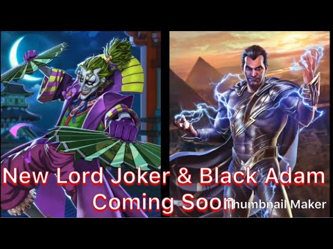Injustice 2 Mobile New Batman Ninja Lord Joker Black Adam Coming Soon Youtube