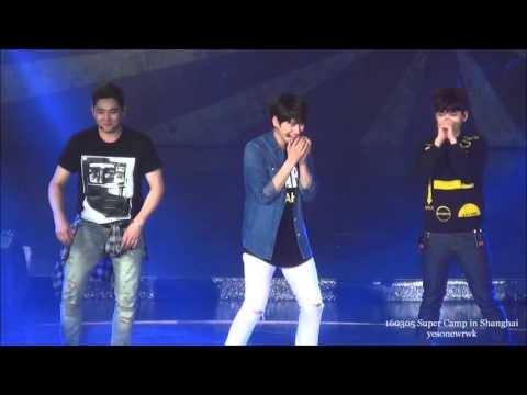 160305 Super Camp Shanghai 【Dance game】Yesung Leeteuk Heechul Kyuhyun