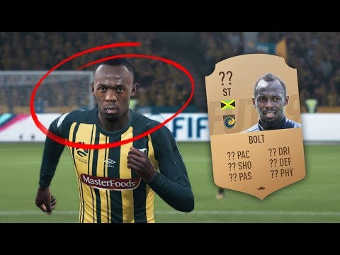 USAIN BOLT IS IN FIFA 19!!!