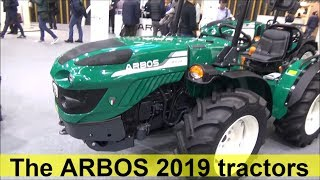 the arbos 2019 tractors show room italy