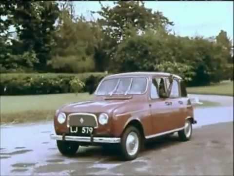 Renault 4  - publicité africaine 1965