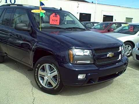 #8741 2007 Chevrolet Trailblazer LTZ 4x4 In Dekalb Il Tom ...
