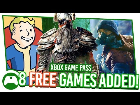 8 FREE Games!  Xbox Game Pass E3 Special
