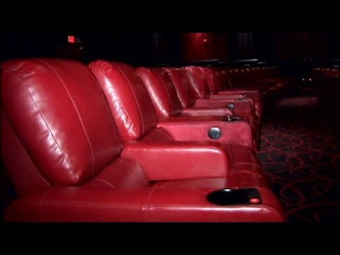 movie theaters with lounge chairs brown dining room theater recliners youtube