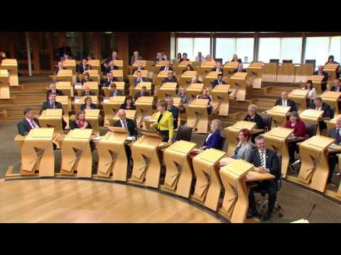 First Minister's Questions - Scottish Parliament: 27th April 2017