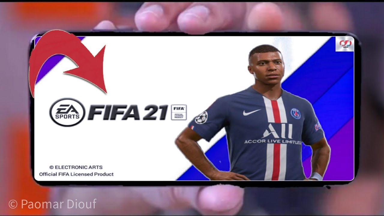 Download FIFA 21 Mobile Android Offline 1GB PS4 Camera Best Graphics New Update Apk+obb.