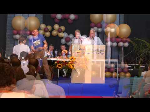 diploma uitreiking Markland College 2015 VWO