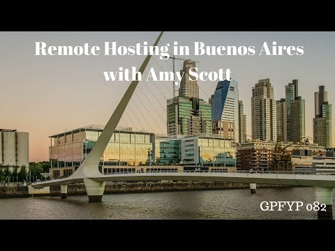 Airbnb Hosting EP 82 Remote Hosting in Buenos Aires with Amy Scott
