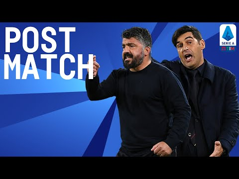Napoli 4-0 Roma   Gattuso & Fonseca Post Match Press Conference   Serie A TIM