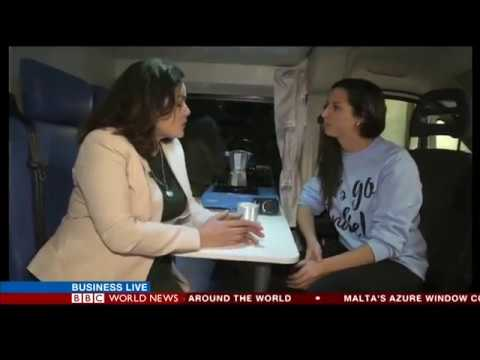 BBC World News: Indie Campers, the future of tourism - an innovative van rental experience in Europe