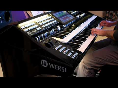 Tears In Heaven (Eric Clapton) played on Wersi Sonic OAX 800