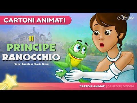 Il principe ranocchio storie per bambini - Cartoni Animati - Fiabe e Favole per Bambini
