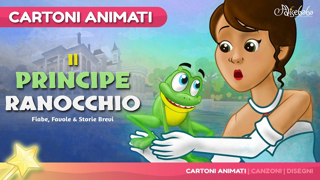 Il principe ranocchio storie per bambini cartoni animati