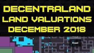 Decentraland Land Valuations Just Before Second Auction! Exploring the whole Map