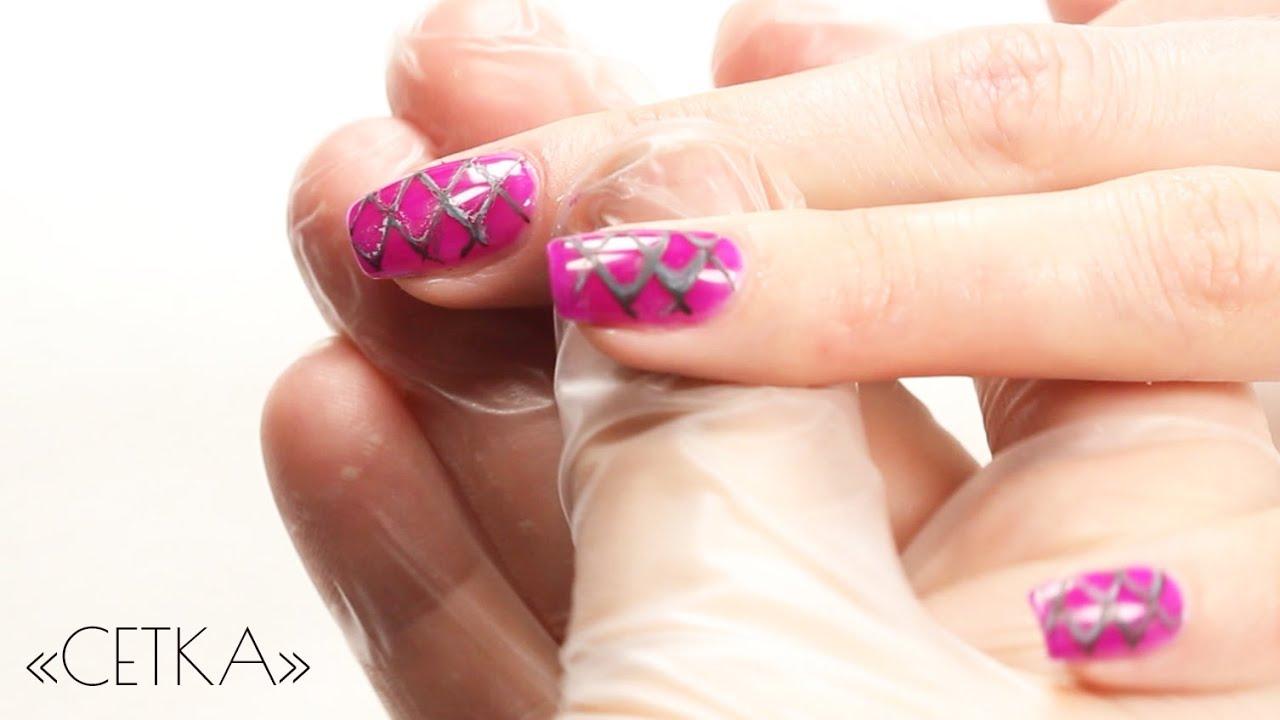 Дизайн для коротких ногтей