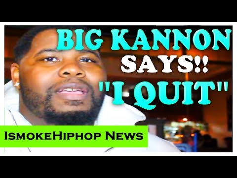 """Battle Rapper Big Kannon says """"I Quit for good""""..Haven't we heard this before?"""