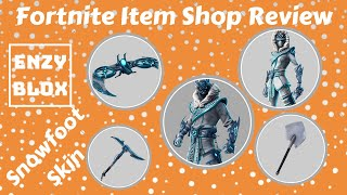 SNOWFOOT SKIN IS BACK Fortnite Item shop review March 11th 2019 | Fortnite Season 8