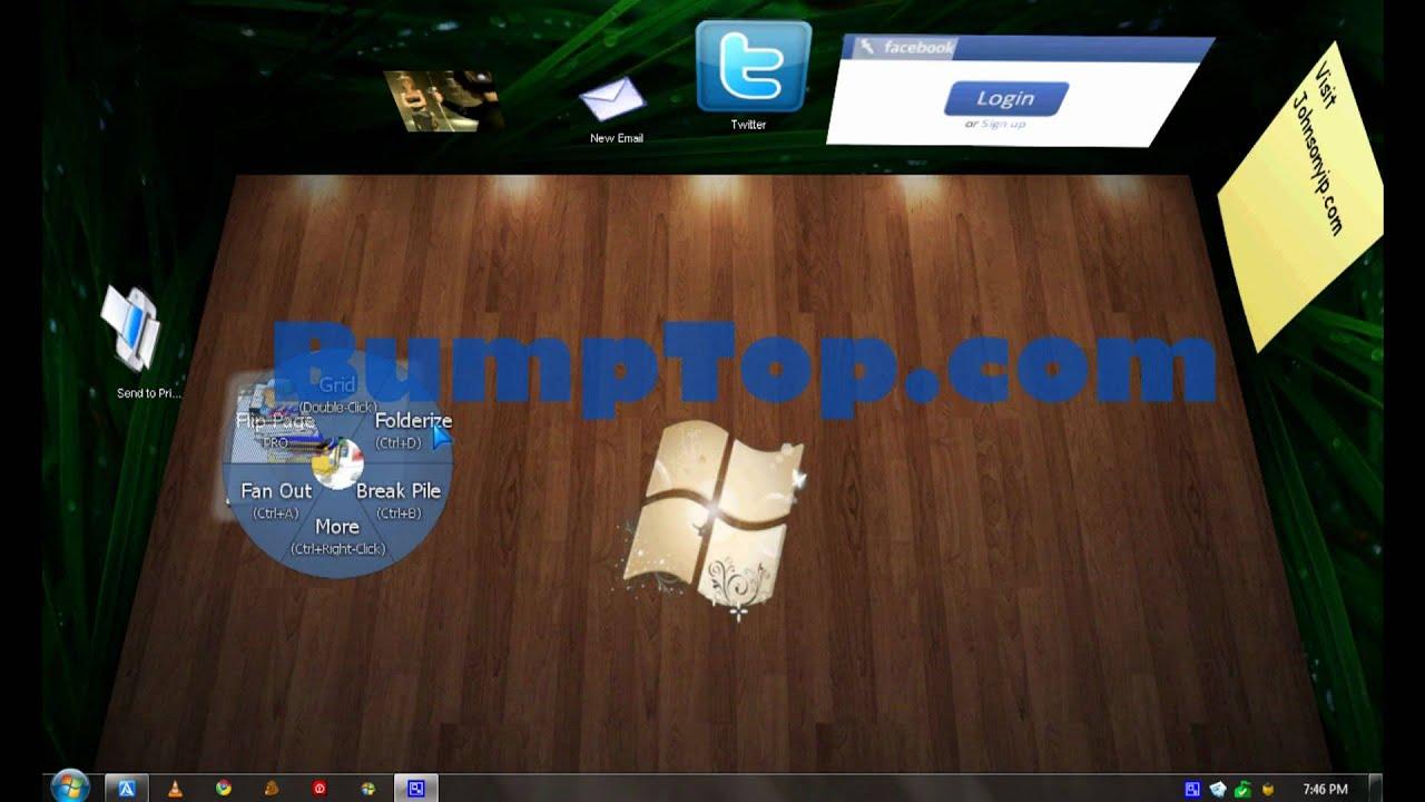 vdock 3d exodo desktops