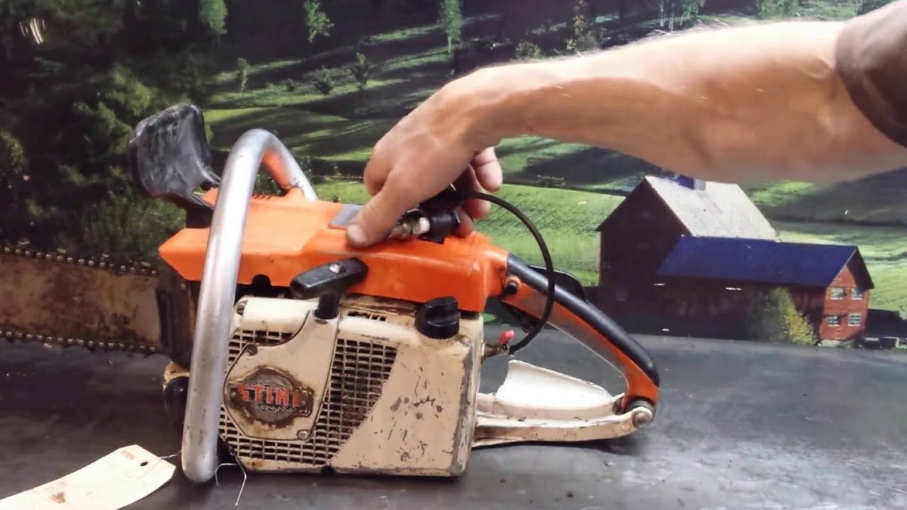 036 Stihl Chainsaw Parts Diagram Points And Condensor Electrical On For 038 The Guy Shop Talk Diagnosing 031 Youtube
