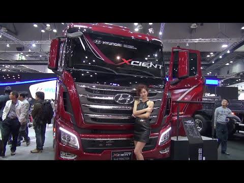 2013 new hyundai trago xcient tractor