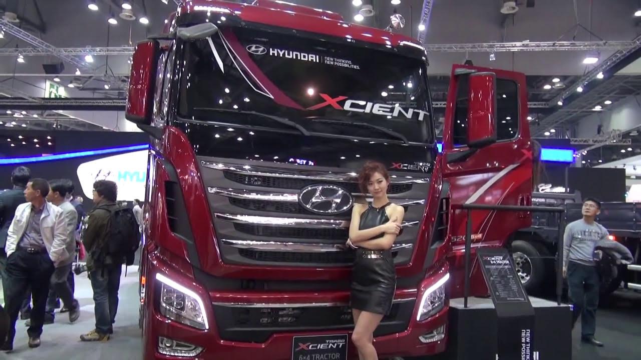 2013 New Hyundai Trago Xcient Tractor 서울모터쇼 현대트라고 엑시언