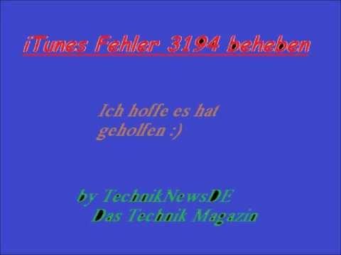 ITUNES FEHLER 45