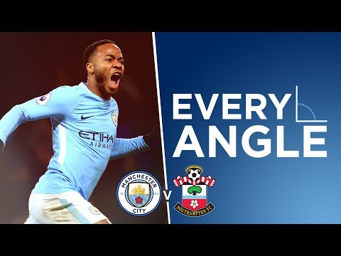 LAST MINUTE WONDER STRIKE | Every Angle Raheem Sterling