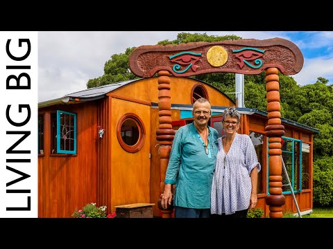 Transforming Tiny House Combines Beauty And Engineering For Artful Living
