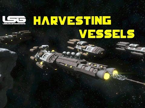 Space Engineers - Resource Harvesting Vessels