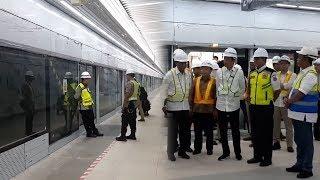 Begini Tampak Dalam Stasiun MRT Jakarta Bundaran Hotel Indonesia