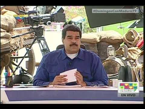 """Maduro llamó a jóvenes de liceo a """"ir a la calle"""" y autogestionarse para recuperar comedor"""