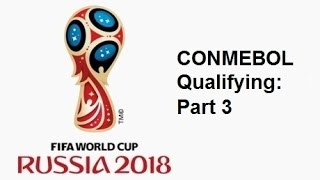 2018 FIFA World Cup: South American Qualifying - Part 3