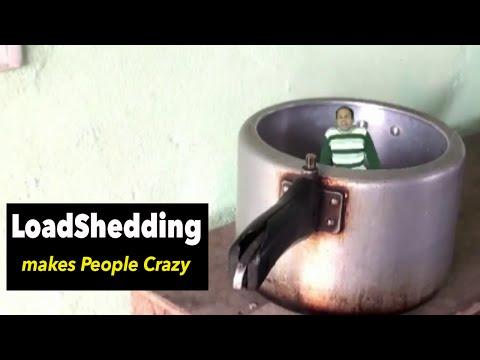 Load Shedding Makes People Crazy - Comedy Short Movie by Basu Poudel