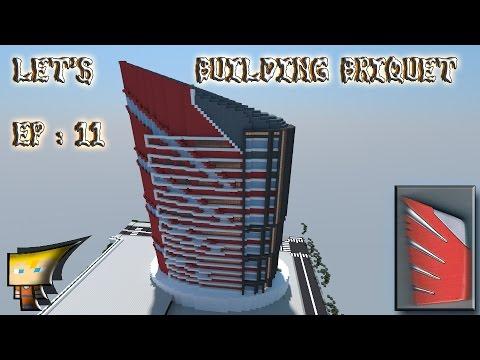 Minecraft : Let's Flint Building [ep 11]