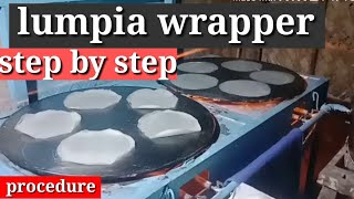 how to make lumpia wrapper.. s…