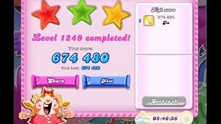 Candy Crush Saga Level 1249    ★★★   NO BOOSTER