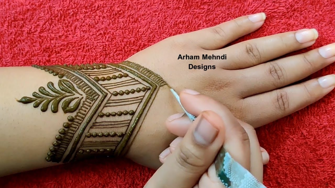 new stylish mehndi design 2020 back hand