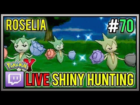 [LIVE] 5% Shiny Roselia At 70 Horde Encounters | Live Shiny Pokemon #70 | Pokemon X And Y
