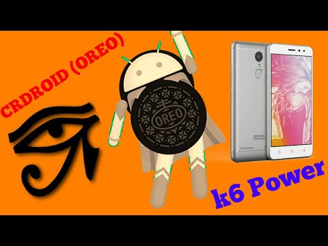 Crdroid Rom(Oreo)| Lenovo K6 Power| A K A Karate| Overview| (Comment Your  Doubts )