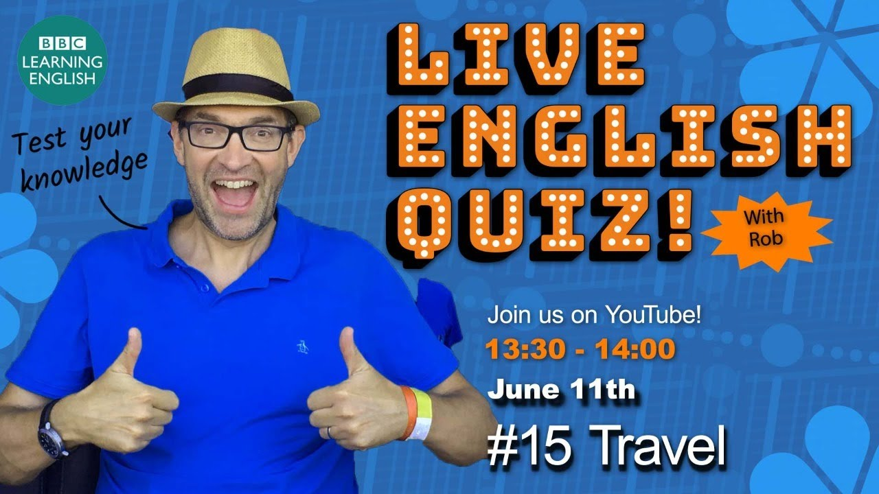 The Friday Quiz with Rob #15 Travel