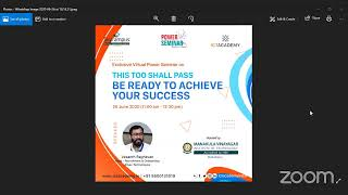 MIT Exclusively Power Seminar THIS TO SHALL PASS - BE READY TO ACHIEVE YOUR SUCCESS by ICT Academy