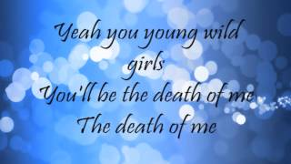 Bruno Mars - Young Girls (Lyrics)