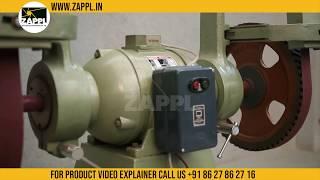 RAJLAXMI Make 3500 x 50 Abrasive Belt Gridner by zappl