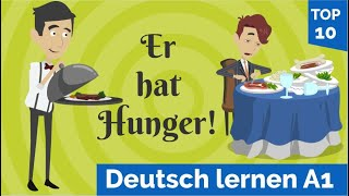 Learning German with Dialogues / Lesson 17 / Vocabulary  Restaurant / Complaining / Pronunciation