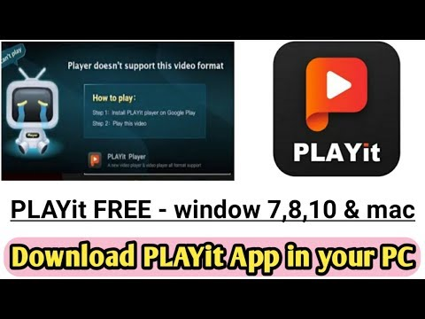 Playit For Pc Download Playit Video Player For Pc Windows And Mac Technobuzzshivam Youtube