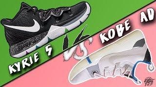 Nike Kyrie 5 vs Kobe AD Exodus!