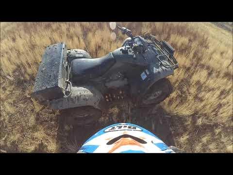 ATVs in the AZ Desert 🌵 Mud & Sand 🌴 w/ the Honda Rancher 4x4 Auto 4 Wheeler & Recon ES Quads