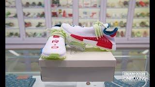 purchase cheap a2fd9 afcf6 UNBOXING adidas x Pharrell Williams Hu NMD NERD