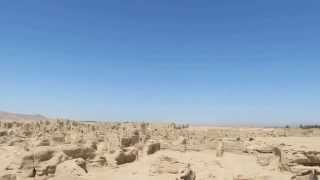 新疆 旅遊影片紀錄 吐魯番  交河故城