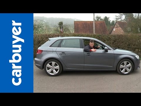Audi A3 Sportback (hatchback) 2013 review - CarBuyer